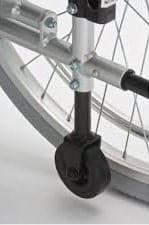 αναπηρικό αμαξίδιο αλουμινίου ac-52 φουσκωτοί τροχοί
