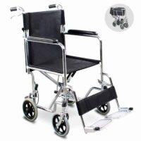 Αναπηρικό Αμαξίδιο Μεταφοράς με φρένα για Στενούς Χώρους Transfer AC-41