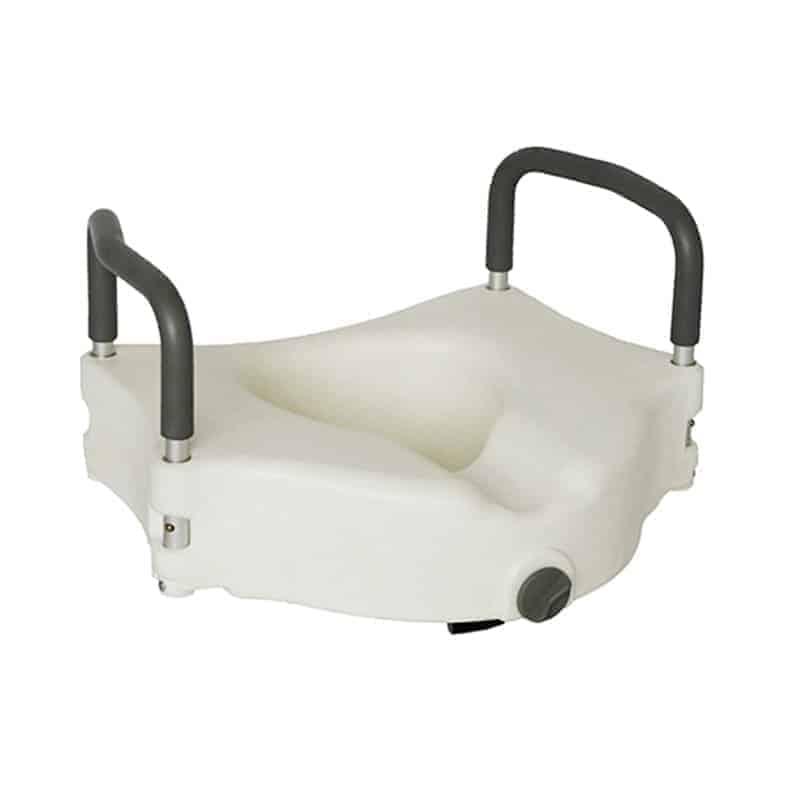 ανυψωτικό τουαλέτας με εμπρόσθιο σφιγκτήρα και βραχίονες 09-2-120