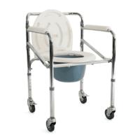 Κάθισμα Τουαλέτας Μπάνιου Τροχήλατο 09-2-115