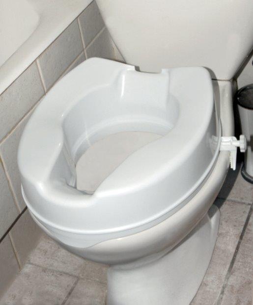 ανυψωτικό τουαλέτας με πλαϊνούς σφιγκτήρες 15 cm ac-532b
