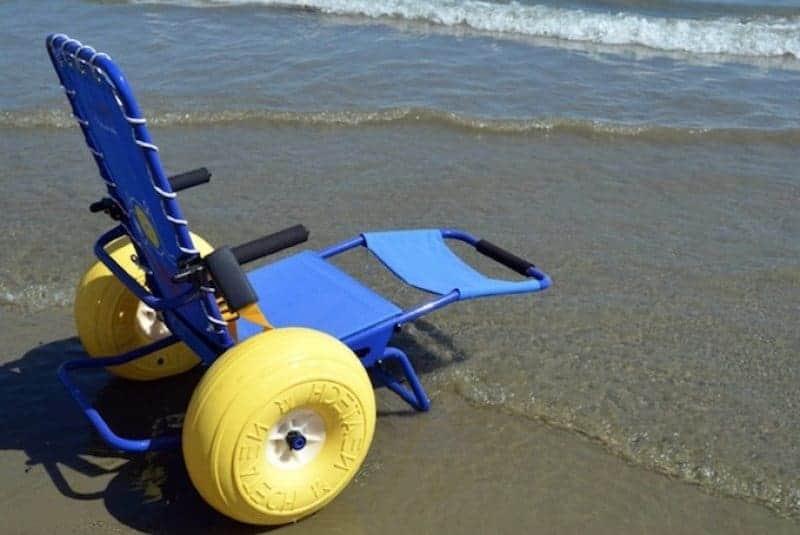 το αμαξίδιο θαλάσσης job είναι ιδανικό για παραλίες, και δεν σκουριάζει!