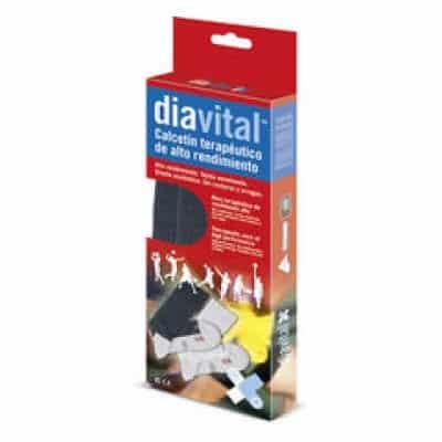 Ιατρική Κάλτσα Diavital Herbi Feet HF5031 Γκρι/Μαύρο