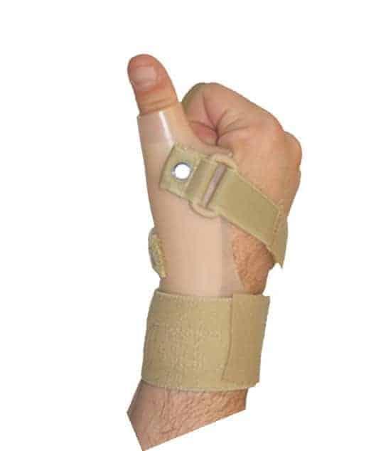 νάρθηκας αντίχειρα πλαστικός extended thumb 2797