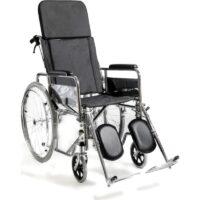 Αναπηρικό Αμαξίδιο με Ανακλινόμενη Πλάτη AC - 49 συστήνεται για χρήση σε εσωτερικό χώρο και εξωτερικό χώρο