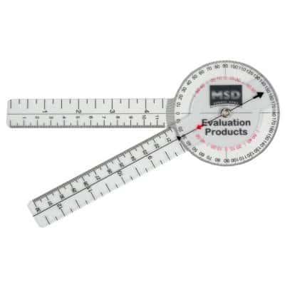 γωνιόμετρο πλαστικό 15 cm