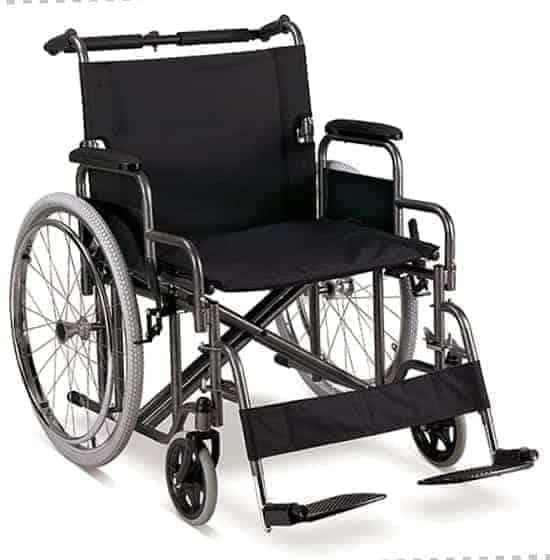 Αναπηρικό Αμαξίδιο Βαριατρικό Bariatric Steel 61cm 09-2-100