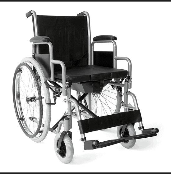 Αναπηρικό Αμαξίδιο με Αφαιρούμενα Πλαϊνά & WC VITA - 09-2-035