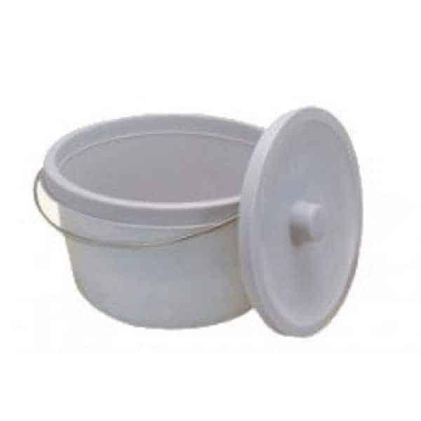 Δοχείο Τουαλέτας Στρογγυλό AC-4264