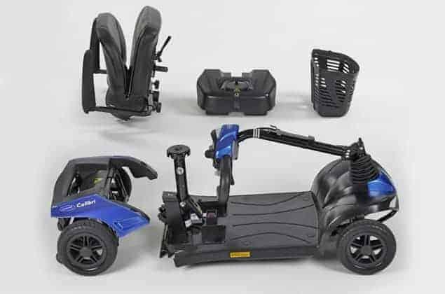 ηλεκτροκίνητο αμαξίδιο scooter colibri invacare