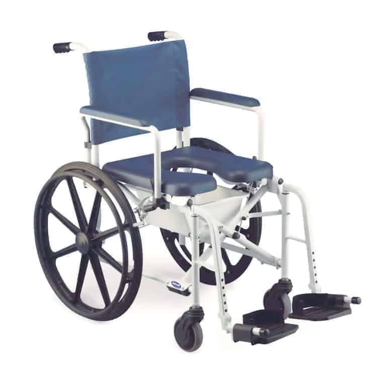 αναπηρικό αμαξίδιο-καρέκλα τροχήλατη με δοχείο wc - invacare - lima 263
