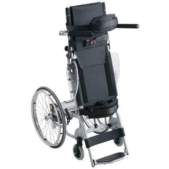 αναπηρικό αμαξίδιο με ορθοστάτη ηλεκτρικό invacare action vertic