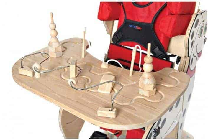 Ηλεκτροκίνητο Παιδικό Αμαξίδιο Ορθοστάτης Dalmatian