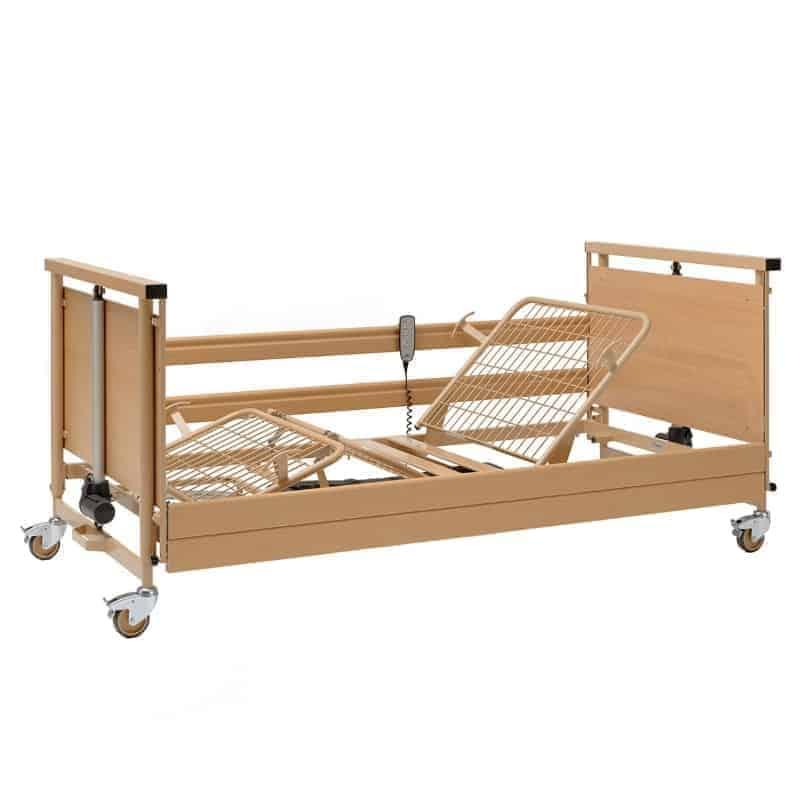 ξύλινο ηλεκτρικό κρεβάτι βαρέως τύπου burmeier allura mighty