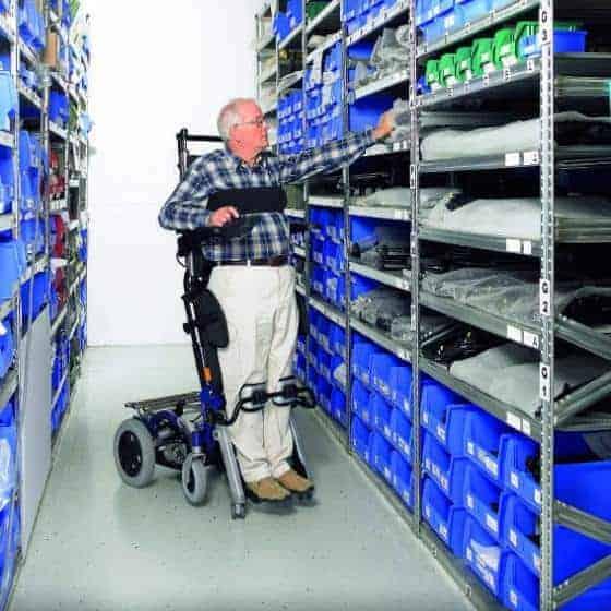 Αναπηρικό Αμαξίδιο Ηλεκτρικό με Ορθοστάτη Invacare DRAGON VERTIC