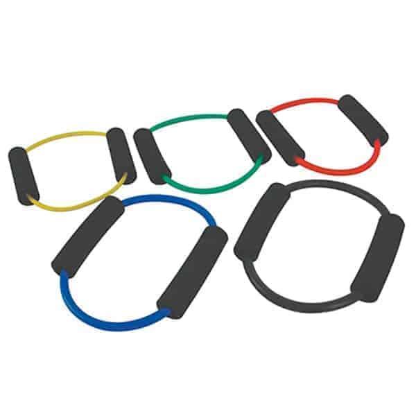 σωλήνας γυμναστικής o-ring loop μαλακό κίτρινο