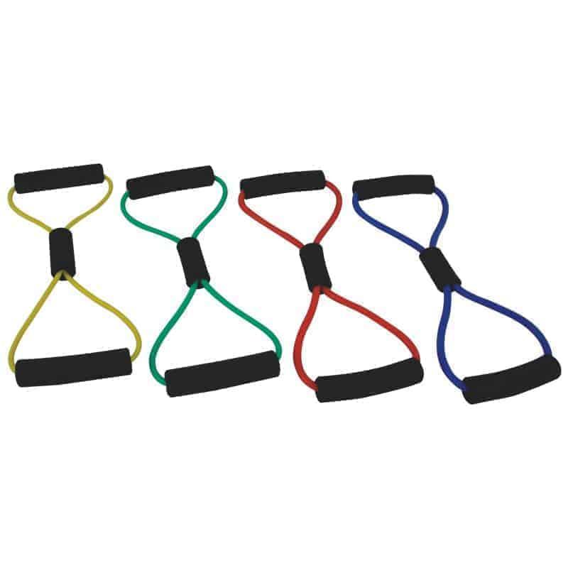 Σωλήνες Γυμναστικής MSD-BAND FIGURE 8-RING LOOP Κίτρινο (Μαλακό)