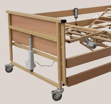 tα ηλεκτρικα ημιδιπλα κρεβατια trento bariatric 120 είναι πλήρεις βαριατρικά κρεβάτια με ξύλινες τάβλες.