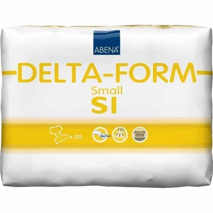 πάνες ημέρας s1 delta form 20τμχ