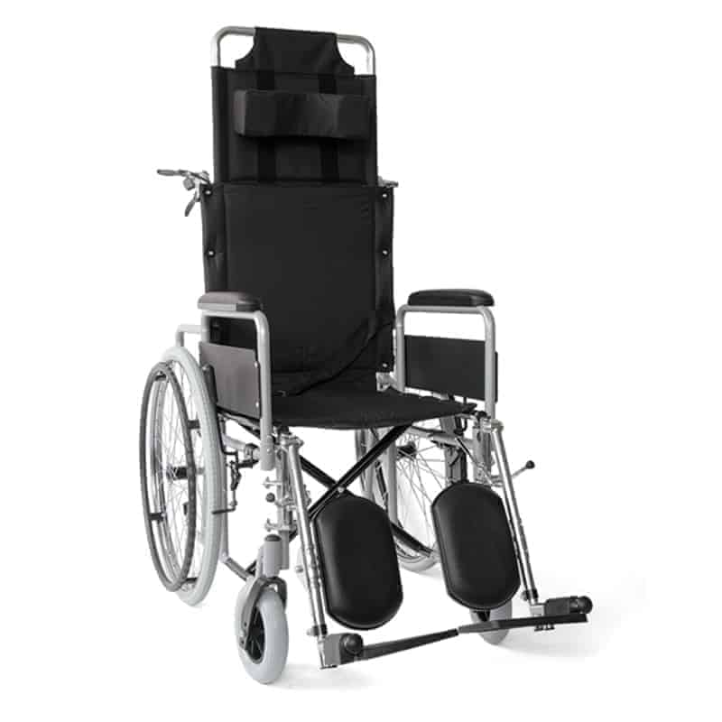 αναπηρικό αμαξίδιο με ανακλινόμενη πλάτη 09-2-136