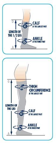 Κάλτσα κάτω γόνατος Sigvaris TFS 701 AD