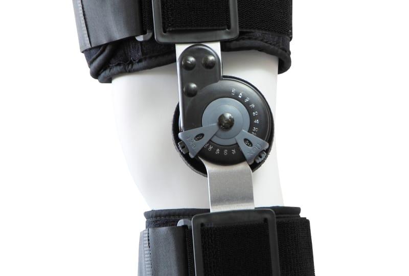 νάρθηκας μηροκνημικός λειτουργικός με γωνιόμετρο premium short mb.9000