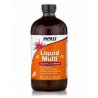 Πολυβιταμίνη Υγρή Μορφή Liquid Multi Tropical Orange Flavor