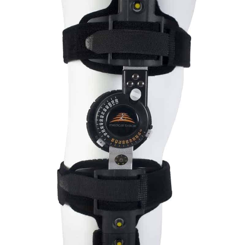 τηλεσκοπικός μηροκνημικός νάρθηκας λειτουργικός με γωνιόμετρο mb.9010
