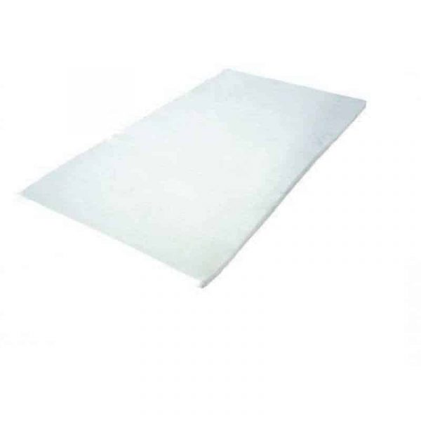 επίστρωμα κλίνης μονό memory foam 5cm