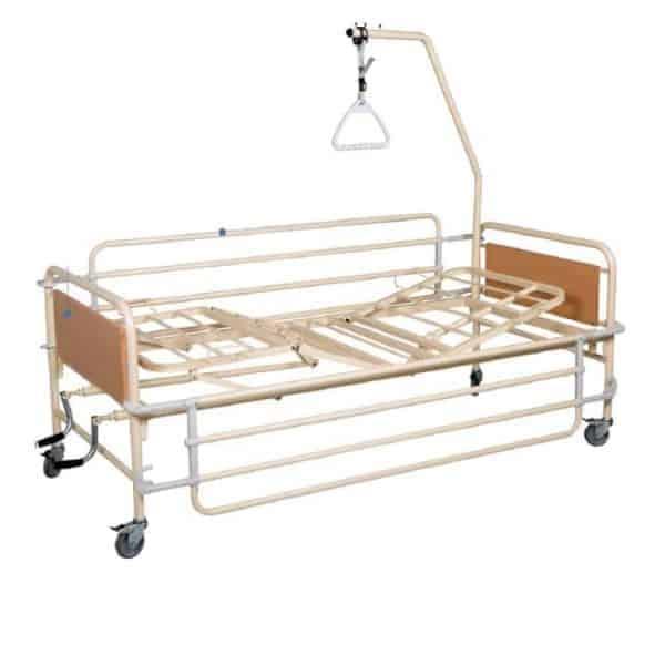 νοσοκομειακά σπαστά κρεβάτια με δύο μανιβέλες kn200.3 econ