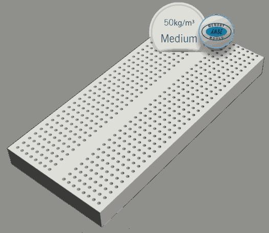 ανατομικό στρώμα technical latex ύψους 23cm και πυκνότητας 50kg/m³