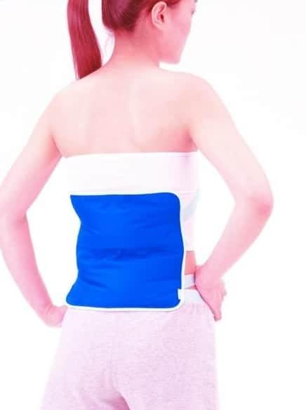 το επιθεμα κρυοθερμοθεραπειας με δεστρα υφασματινο ενδείκνυται για αποθεραπεία σε μεγάλα μέρη του σώματος όπως πχ η μέση!