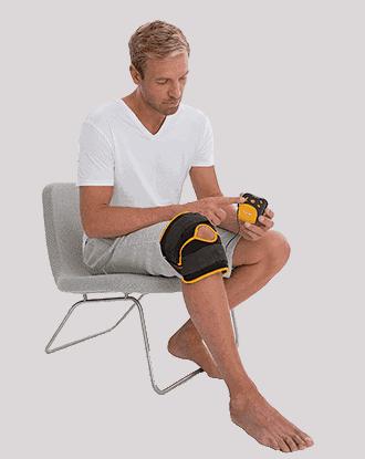 η συσκευή tens για γόνατο και αγκώνα beurer em 29 της beurer έρχεται με 4 προγράμματα εκπαίδευσης tens για την ανακούφιση του πόνου στα γόνατα.