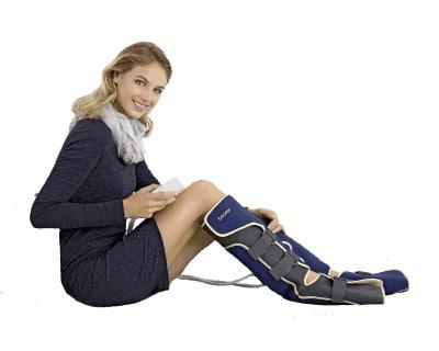 H Αντιθρομβωτική περικνημίδα FM 150 της Beurer είναι ένα μηχάνημα θεραπείας με συμπίεση αέρα, για τα πόδια!