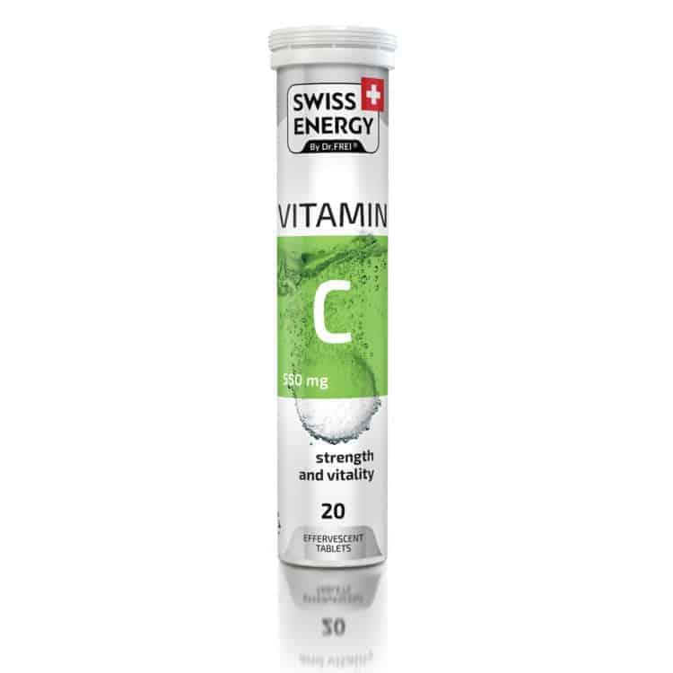η βιταμίνη c 550mg swiss energyσυμβάλλει στη φυσιολογική λειτουργία του ανοσοποιητικού συστήματος