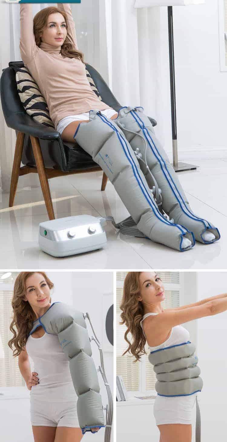 Συσκευή Λεμφικού Μασάζ-Πρεσσοθεραπείας Power Q 1000 Plus
