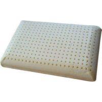 κλασικό μαξιλάρι ύπνου Latex άσπρου χρώματος