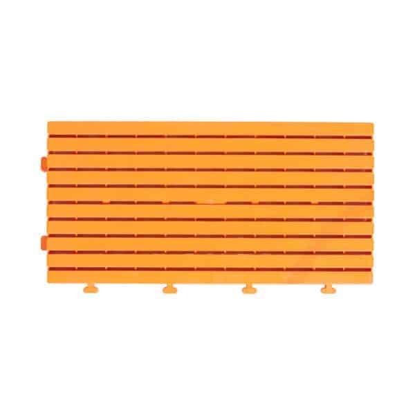 πορτοκαλί διάδρομος παραλίας