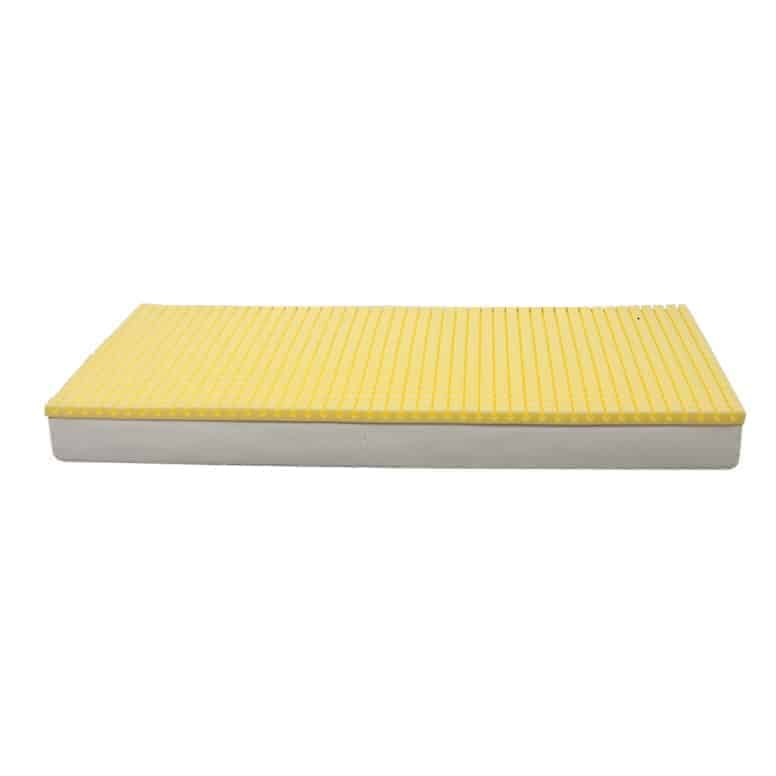 Comfort στρώμα ύπνου κίτρινο και άσπρο