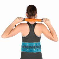 Το Επίθεμα Back Wrap ταιριάζει απόλυτα γύρω από τη μέση του ασθενούς για μια βέλτιστη ανακούφιση του πόνου στην πλάτη