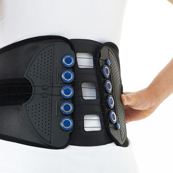 ζώνη οσφύος με κορδόνια και φουσκωτό σύστημα συμπίεσης dr-b061