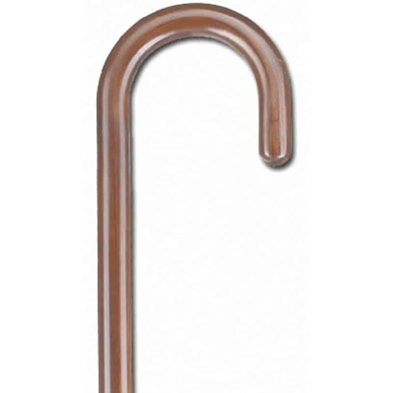 μπαστούνι καφέ στρογγυλή λαβή ac–825