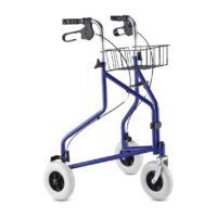 Το Rollator Μπλε DELTA B B+B ήρθε για να σας προσφέρει ασφάλεια στις καθημερινές σας μετακινήσεις!