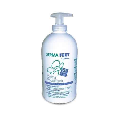 Η Κρέμα Ποδιών Urea 20% HF 6032-480ml με περιεκτικότητα ουρίας 20%, μη λιπαρή.