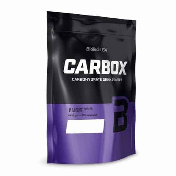 Οι Υδατάνθρακες Αύξησης Μάζας CARBOX 1000gr BIOTECH USA είναι ενισχυμένοι από Multi-Interval CarboX™, αυτό το υψηλά προηγμένο μείγμα υδατανθράκων