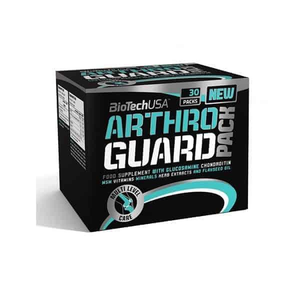 Tο ARTHRO GUARD PACK 30 packs περιλαμβάνει 1000 mg Γλυκοζαμίνης, 1000 mg Χονδροϊτίνης