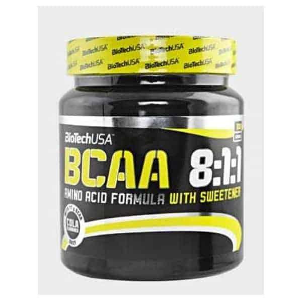 Τα BCAA 8:1:1 ZERO 250gr BIOTECH USA με αναλογία 8:1:1 περιέχει αυξημένη ποσότητα λευκίνης