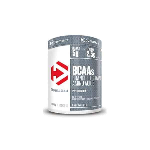 Η BCAA Powder 300gr DYMATIZE διαλύεται εύκολα σε νερό ή χυμό στο πρωινό