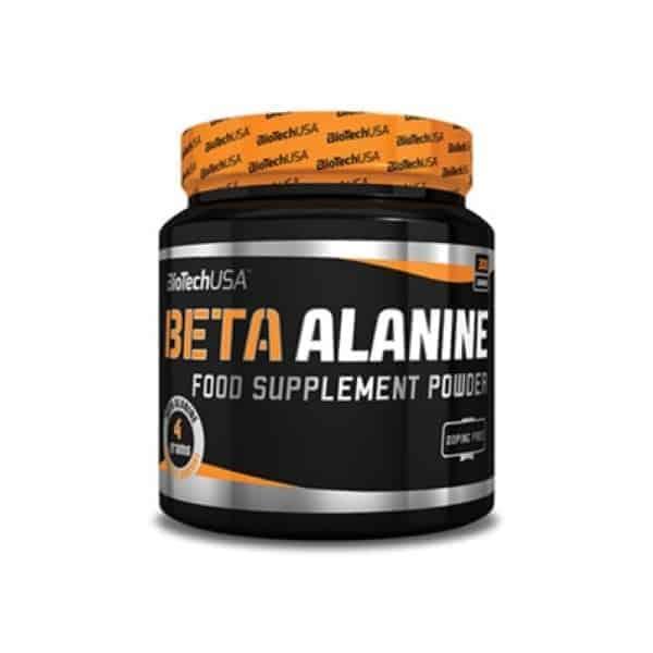 Το BETA ALANINE POWDER 300gr είναι 100% καθαρα β-αλανινη αμινοξεα σε μορφη σκόνης για την αυξηση της παραγωγης καρνοζινης.