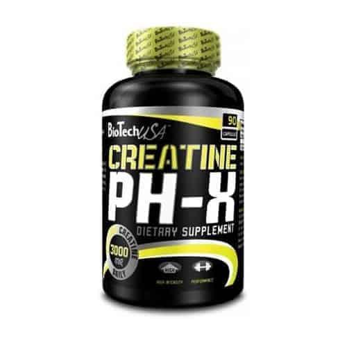 Η CREATINE PH-X 90caps είναι το ιδανικό προϊόν για αθλητές οι οποίοι στοχεύουν σε αποτελεσματική αύξηση δύναμης και ισχύος.